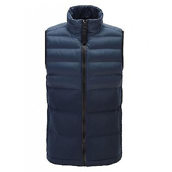 Hugo Boss Casual Hugo Boss Men's Dunkelblau Zip durch Gilet