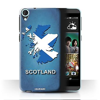 STUFF4 Case/Cover for HTC Desire 820s Dual/Scotland/Scottish/Flag Nations