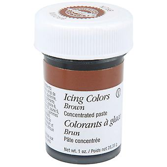 Icing Colors 1 Ounce Brown W610 507
