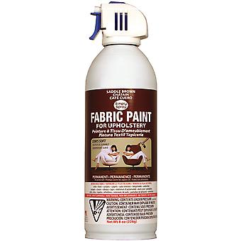 Upholstery Spray Fabric Paint 8 Ounces Saddle Brown Up38090 08M