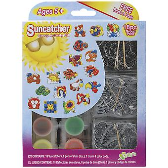 Suncatcher Group Activity Kit Spaß Tier 18 Pkg Sgp 08