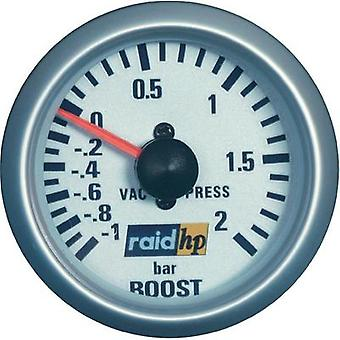 raid hp 660218 Turbo Pressure Gauge -1 - +2bar 12V