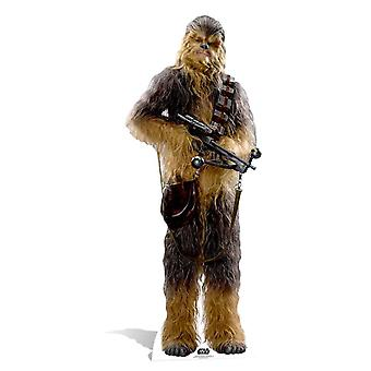 Chewbacca Star Wars The Force Awakens Cardboard Cutout / Standee / Standup
