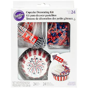 Cupcake Decorating Kit Makes 24-Rocket W4129