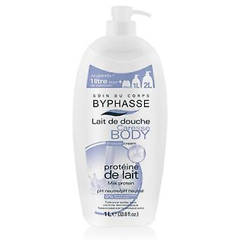 Byphasse Shower Cream Milk Protein 1L