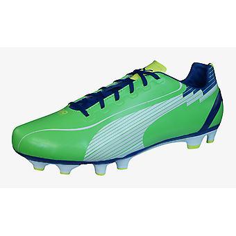 Puma evoSPEED 4 FG Mens Football Boots / Cleats - Green