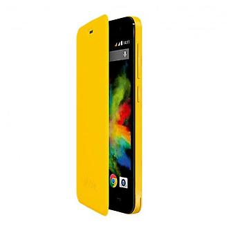 Wiko Cover with lid yellow bloom (Home , Electronics , Telephones , Accessories)