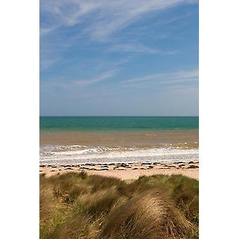 Juno Beach Courseulles Sur Mer Poster Print by Walter Bibikow