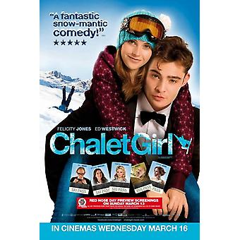 Chalet Girl Movie Poster (11 x 17)