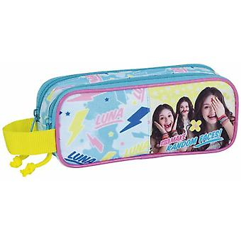 Safta Portatodo Doble Soy Luna Faces (Toys , School Zone , Pencil Case)