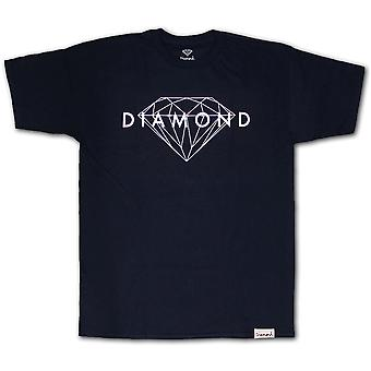 Navy T-shirt brillant diamant Supply Co.