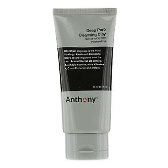 Anthony Logistics For Men Deep Pore Cleansing Clay (Normal To Oily Skin) 90g/3oz