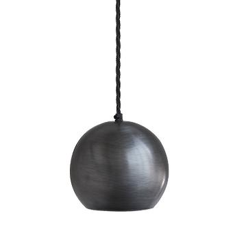 The Globe Collection Pendant Light - Dark Pewter - 6