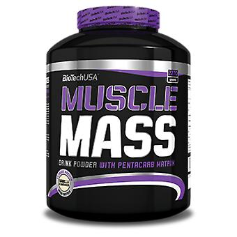 BiotechUSA Muscle Mass Chocolate Flavor 1000g (Sport , Carbohydrates)