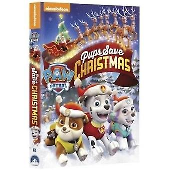 Paw Patrol: Pups Save Christmas [DVD] USA import