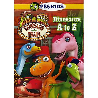 Dinosaurs a to Z [DVD] USA import