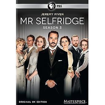 Masterpiece: Mr. Selfridge - Season 3 [DVD] USA import