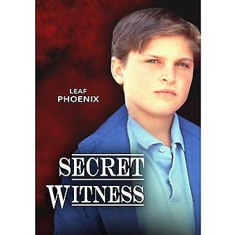 Hemmelige vidner [DVD] USA importerer