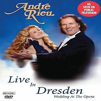 André Rieu - Live fra Dresden-bryllup på Opera [DVD] USA importen