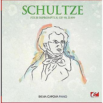 Schubert - fire impromptu-stykker Op. 90 D.899 [DVD] USA import