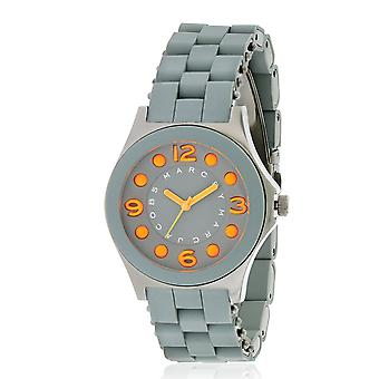Marc by Marc Jacobs Pelly Silicone Ion Gunmetal Ladies Watch MBM2589