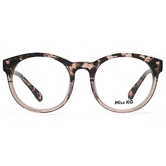 Gafas de Miss KG Bettie ronda rosa Demi