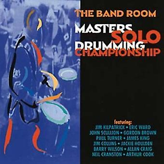 Masters Solo Drumming Champ - Masters Solo trommespil mester [CD] USA import