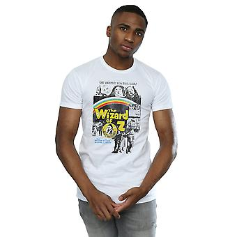 Wizard of Oz Men's Distressed Movie Poster T-Shirt