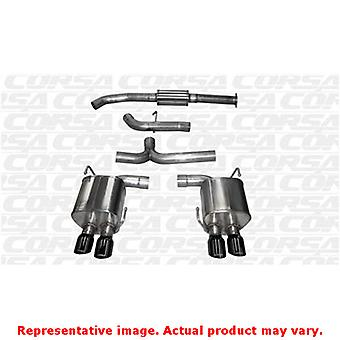 CORSA Performance Cat Back Exhaust 14857BLK Black Fits:SUBARU 2015 - 2015 WRX