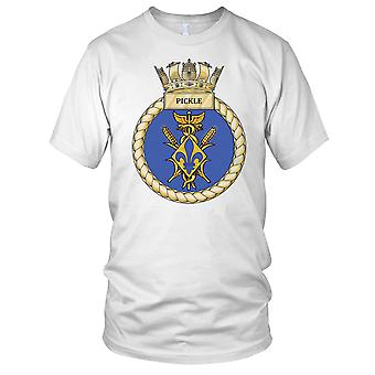 Royal Navy HMS Essiggurke Damen T Shirt