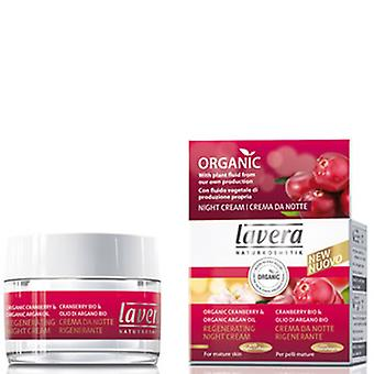 Lavera Regenerating Night Cream, 30ml (för mogen hud)