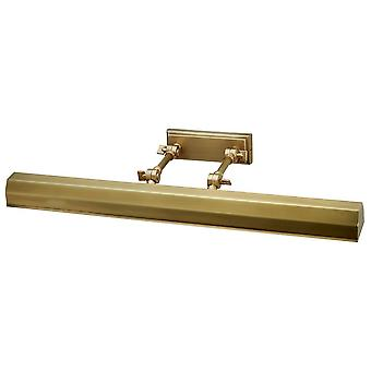 Elstead CHAWTON/PLL AB Chawton 1 Light Large Picture Light In Aged Brass - Width: 652mm