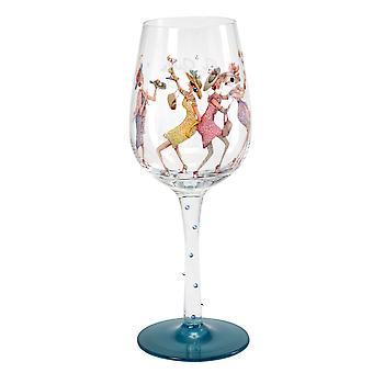 Here's To You A Girls Night Out Glass