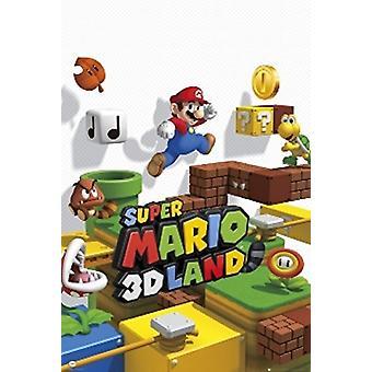 Nintendo Super Mario 3Dland Poster Poster afdrukken