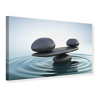 Lærred Print sten Balance