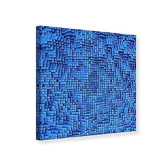 Lona impressão 3D mosaico