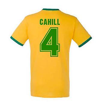 Tim Cahill Australien Ringer Tee (gelb)