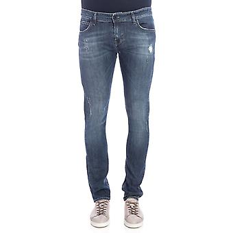 Roy Roger's men's CAMPADELUXEFLYMUDDENIM Blau cotton of jeans