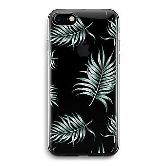 iPhone Case 7 Transparent (weich) - Blätter einfach