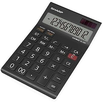 Sharp EL-125T calculadora Sharp 82-EL125TWH negro