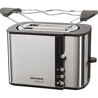 Toaster with home baking attachment Grundig TA 5260 Black Line S
