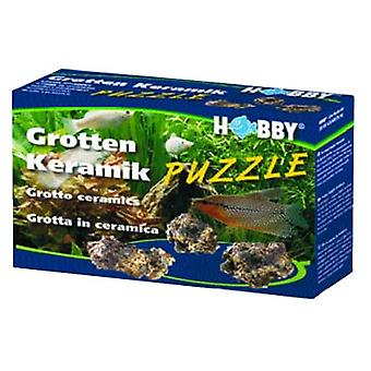 Hobby Grotten Puzzle 1 Kg. (Fish , Decoration , Rocks & Caves)