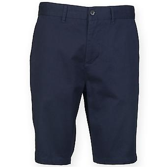 Front Row Mens Stretch Tagless Chino Shorts
