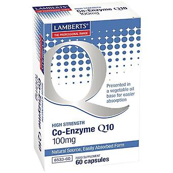 Lamberts Co-Enzyme Q10 60 tablets - 100 mg (Vitamins & supplements , Special supplements)