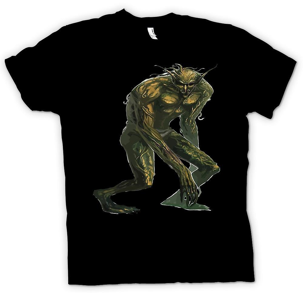 Mens T-shirt - Troll Alert - Funny Folklore