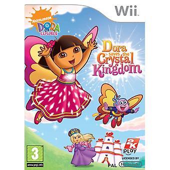 Dora rettet die Explorer Dora Crystal Kingdom (Wii)