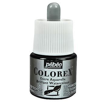 Pebeo Colorex Ink 45ml (61 Trichromatic Black)