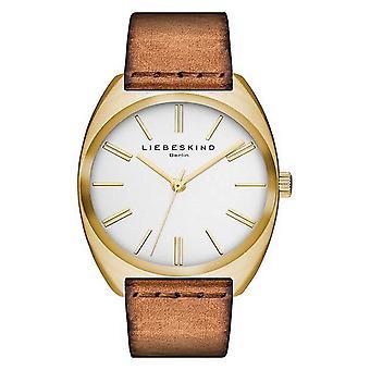 LIEBESKIND BERLIN Unisex Watch wristwatch leather LT-0058-LQ