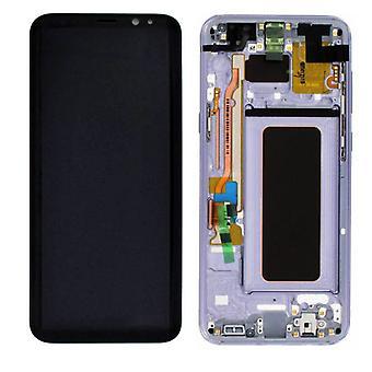 Display LCD completo set GH97-20470 C viola per Samsung Galaxy S8 e G955 G955F