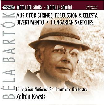 B. Bartok - Bart K: Music for Strings, Percussion & Celesta; Divertimento; Hungarian Sketches [SACD] USA import